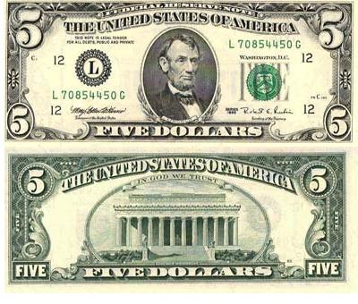 5 U S Dollar
